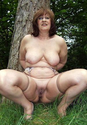 Fatty mature slut..