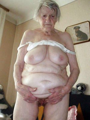 Fully bare grandmother..