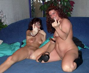 2  nymphs lesbos made..