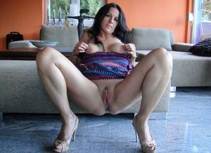 Bare mom with huge and..