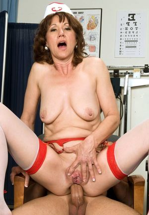 Beddable mature nurse..