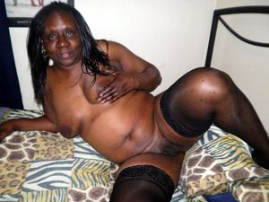 Freaky ebony mature..